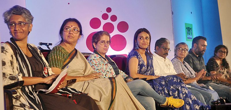 Dignitaries during the second anniversary celebrations of WCC