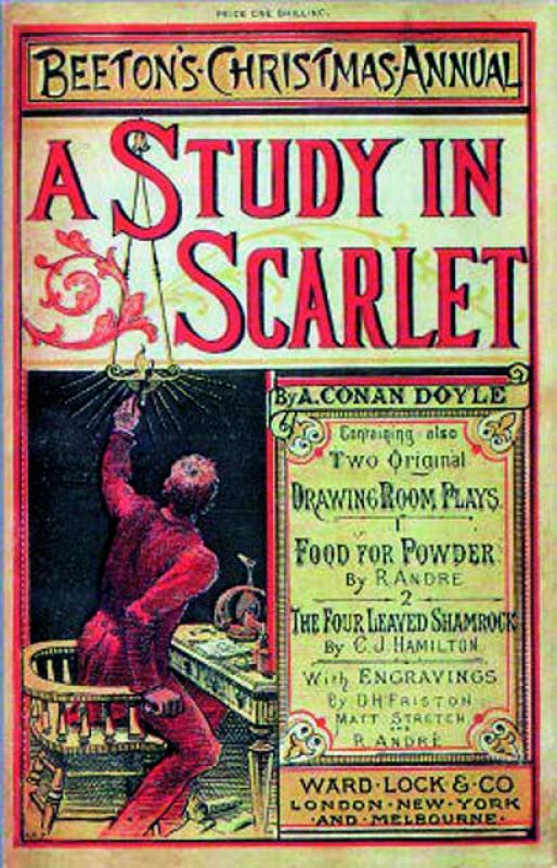 Study in Scarlet in Beeton's Christmas Annual