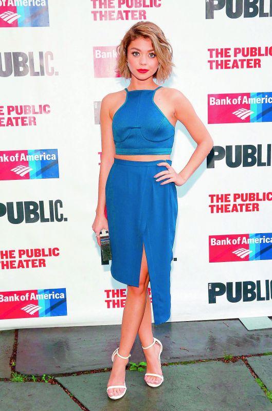 Actress Sarah Hyland