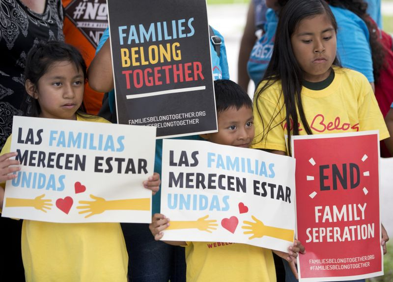 Protesters, Democrats want immigrant families reunited