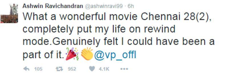 R Ashwin tweet