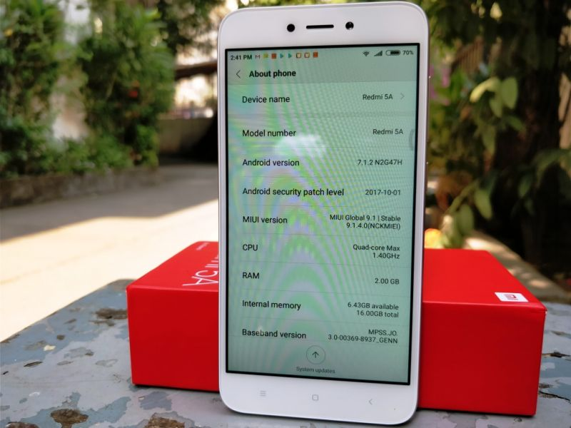 Xiaomi Redmi 5A review: A bang for your buck