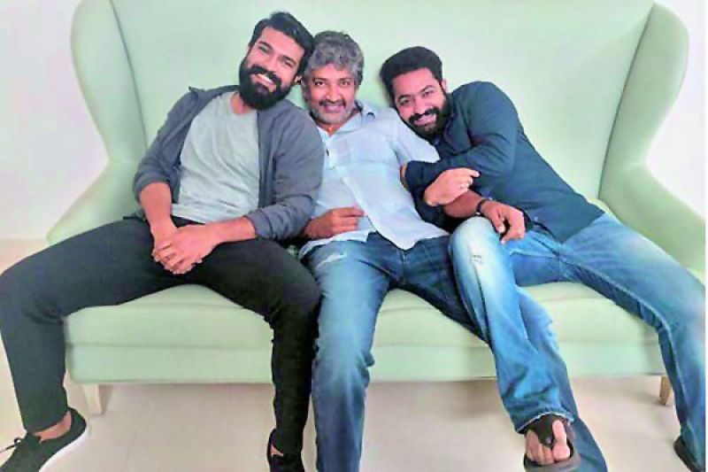 The director will first shoot with Jr. NTR and then with Charan for his part