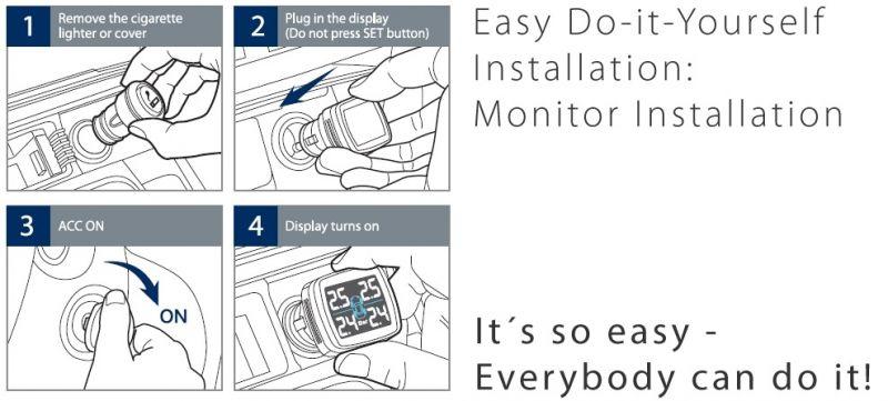 Blaupunkt Tire Pressure Monitor