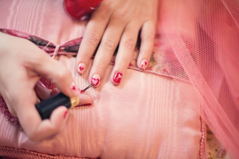 Nail polish removers can remove small stains