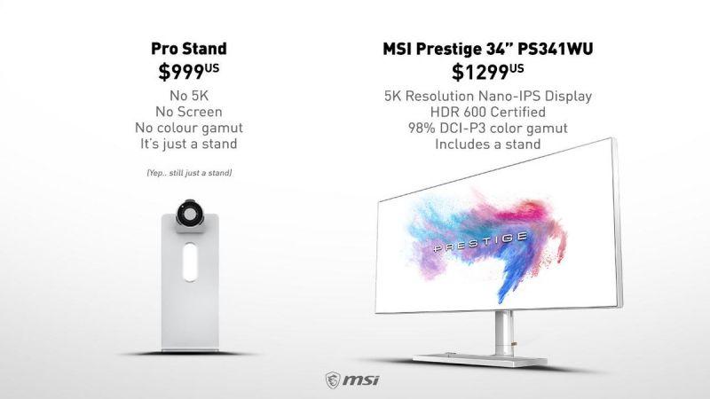 MSI Prestige 34-inch