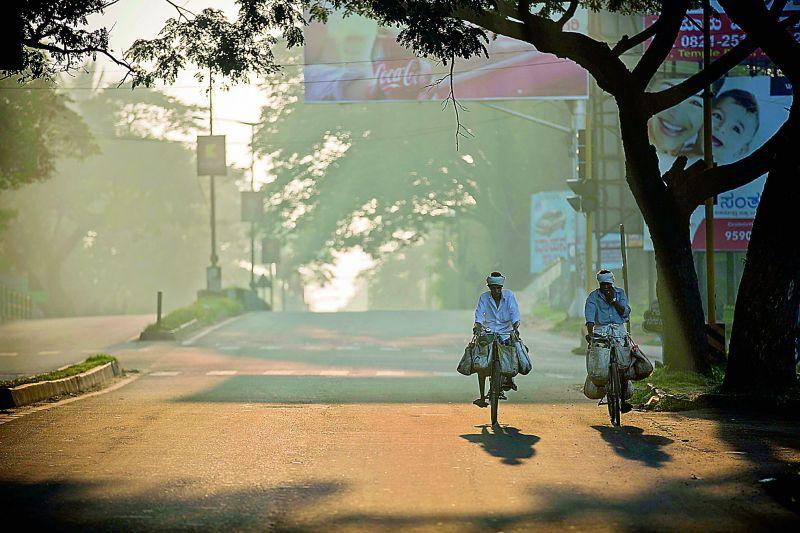 Flower sellers, Mysore.