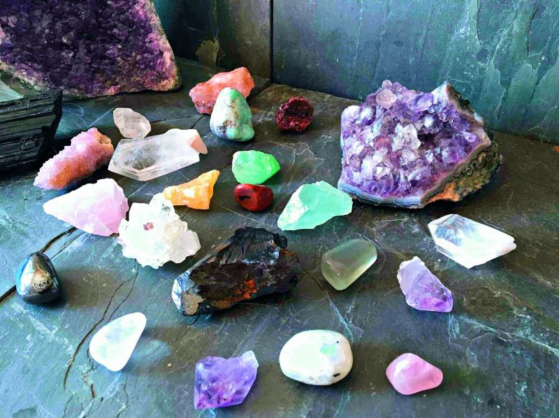 Katrina Kaif surrounds herself with healing crystals for positivity in her life. She has furnished her old house with healing stones that provide  positive energy.