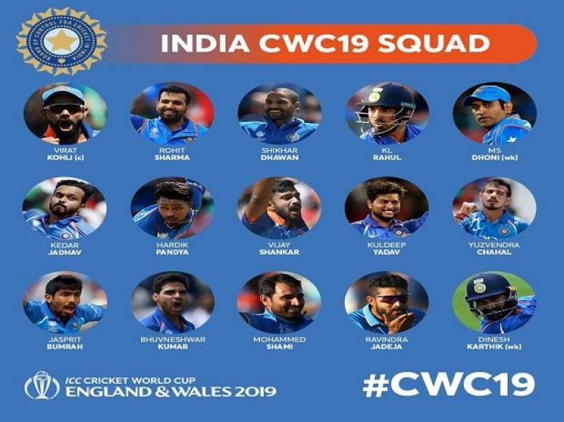 (Photo: India cricket team/ twitter cwc)