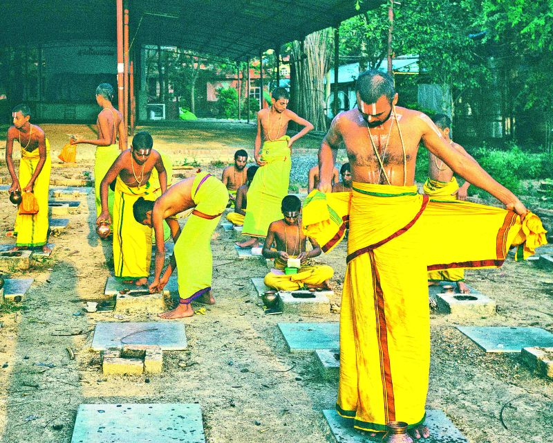 Getting ready at Vijayawada