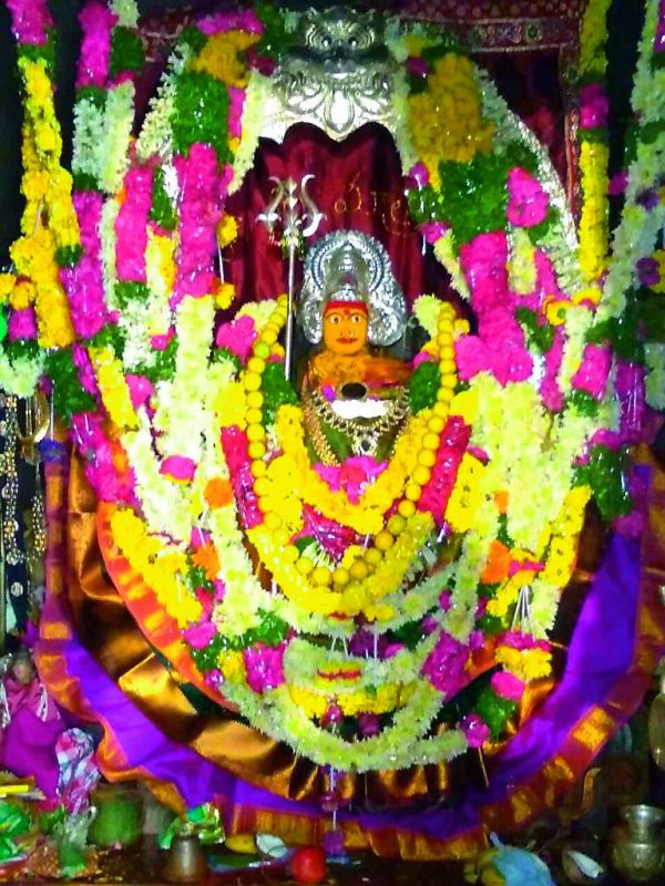 Goddess Bhadrakali idol