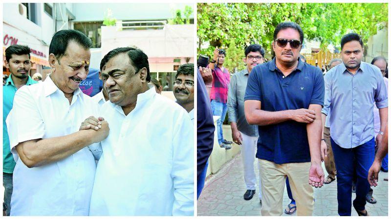 Rallapalli and Babu Mohan, Prakash Raj and Vamsi Paidipally