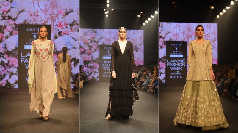 Creations by Julie Shah at LFW 2018