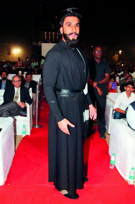 Ranveer Singh plays Alauddin Khilji in Sanjay Leela Bhansali's film Padmavati.