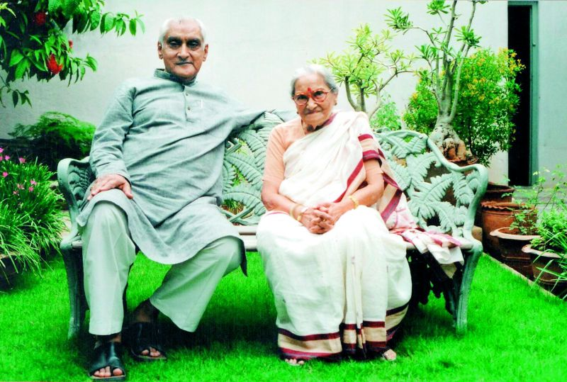 Jagdish and his wife Kamla met in the late 1940s and by 1951 were married.