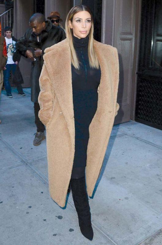 Fur coats give you a regal look