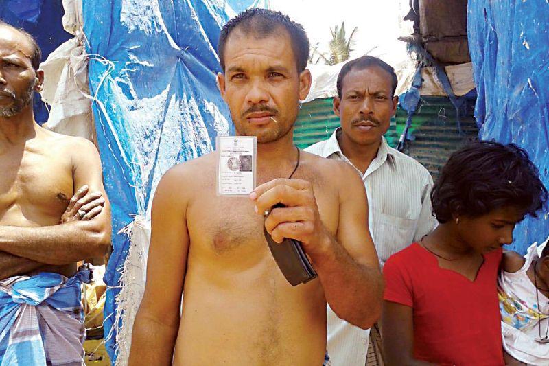 7 held with fake aadhaars
