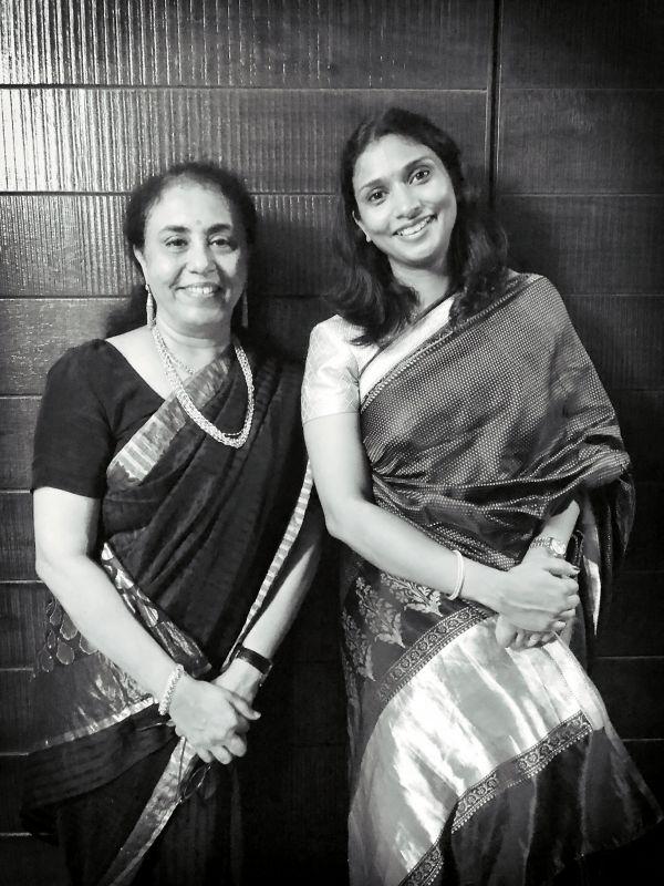 Documenting legacy: Art historians Dr Usha Balakrishnan (left) and Deepthi Sasidharan (right)