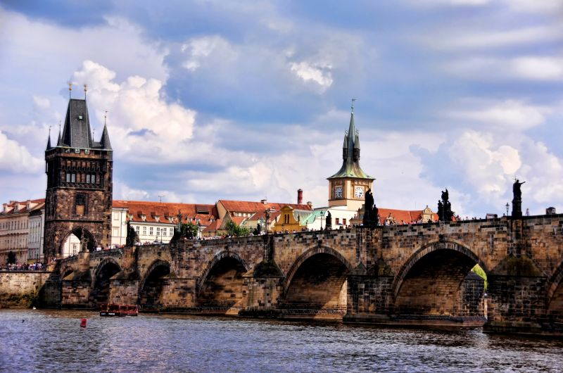 Charles Bridge, the oldest bridge in Prague and named after the Roman Emperor Charles IV, who resided in Prague. (Photo: Rajan Goregaoker)