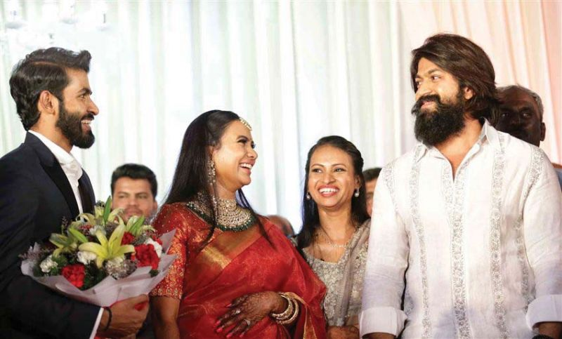 Yuva Rajkumar, Sridevi Byrappa and Yash