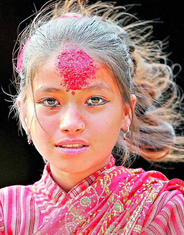A Nepali bride