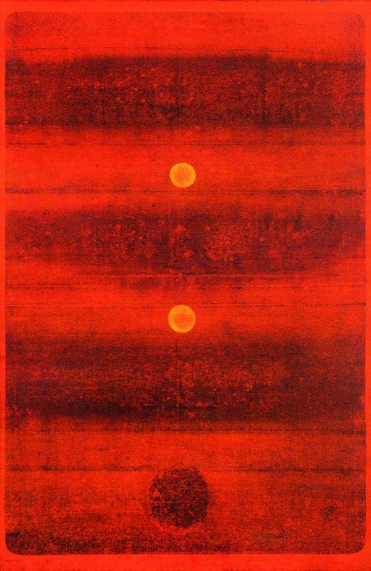 V. S. Gaitonde's untitled artwork which went under the hammer.