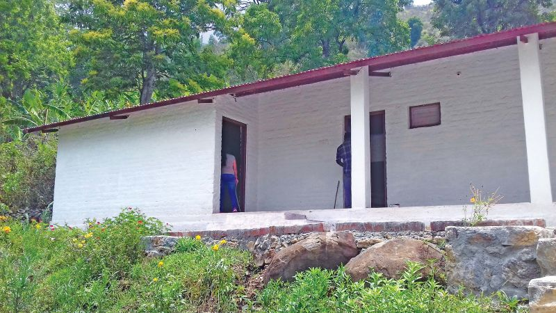 Gandhi centre for human values nestled in the Gandhi farm at Vadakavunchi, around 25km from Kodaikanal lake.