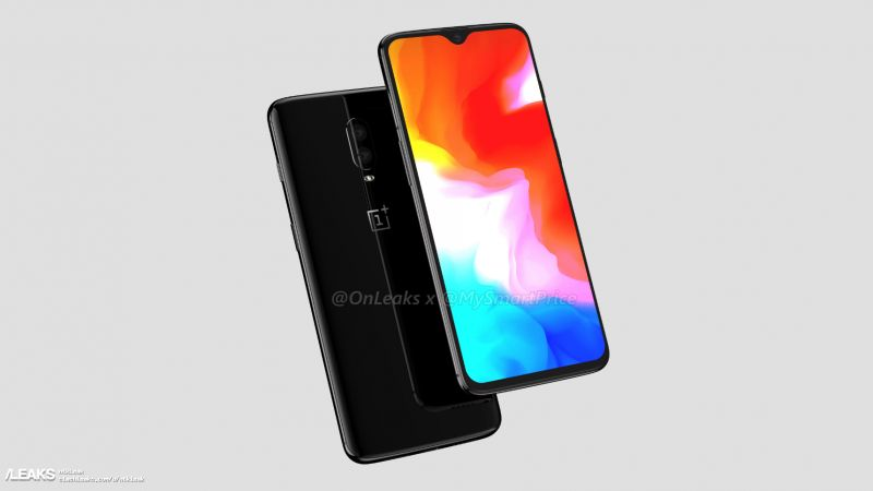 Here is the OnePlus 6T From Every Angle