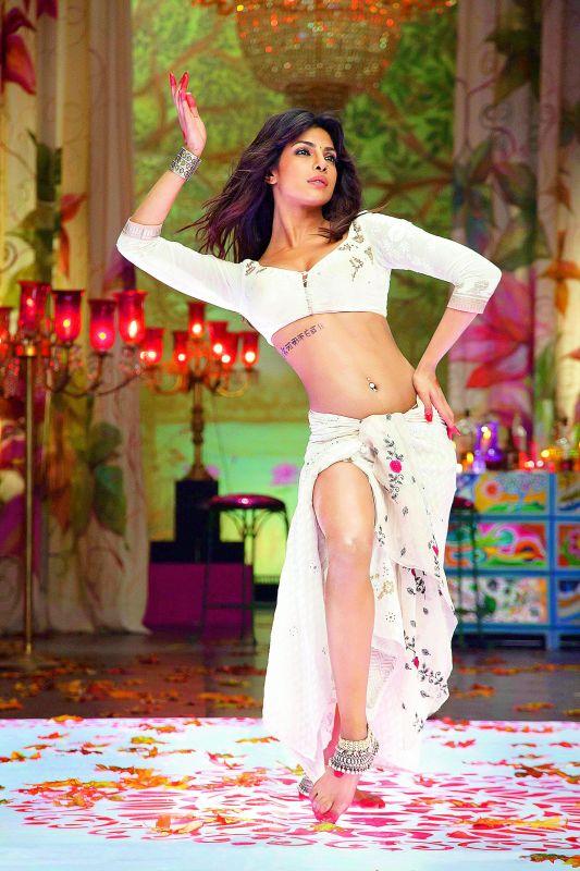 A special song in Bhansali's film Goliyon Ki Rasleela Ram-Leela, Ram Chahe Leela featured Priyanka Chopra in very skimpy clothes.