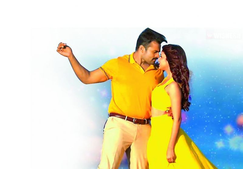 Sai Dharam Tej in the song Chamku Chamku Cham from Intelligent