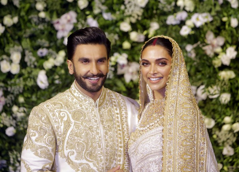 Deepika Padukone and Ranveer Singh wedding reception in Mumbai