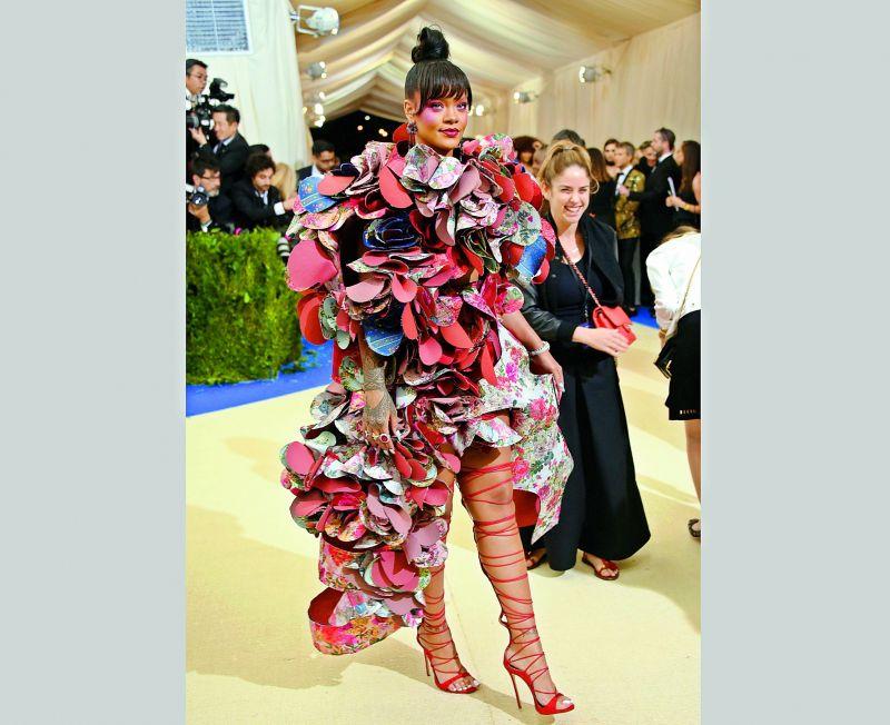 Rihanna at the Gala.