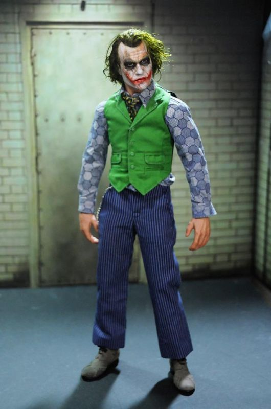 Noel Cruz creation of Heath Ledger doll as Joker (Photo: Facebook)