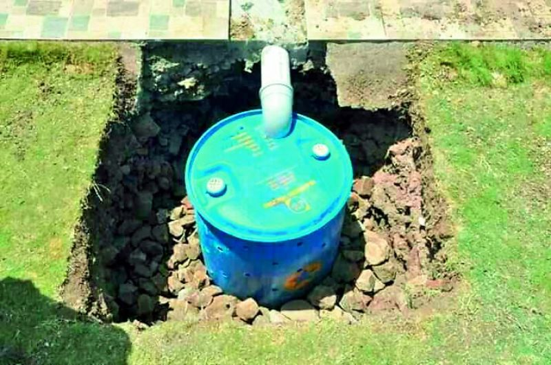 Harvesting rainwater has become essential and the need for the hour.