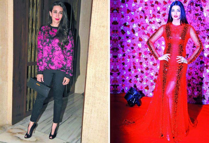 Karisma Kapoor and Aishwarya Rai Bachchan