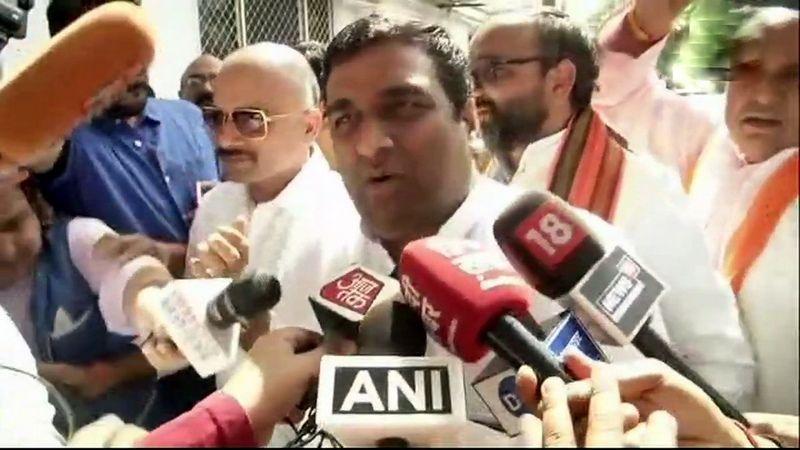 Anil Singh, BSP MLA. (Photo: ANI   Twitter)