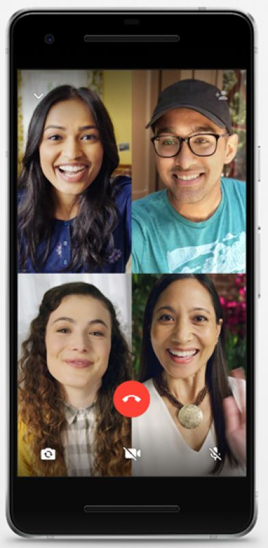 WhatsApp group video calling feature