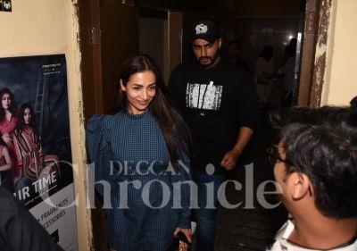India's Most Wanted screening: Malaika, Sonam others watch Arjun Kapoor's film