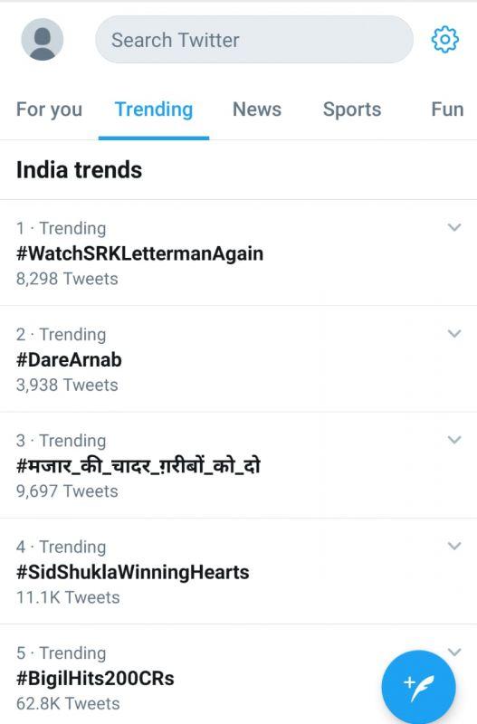 SRK trend.