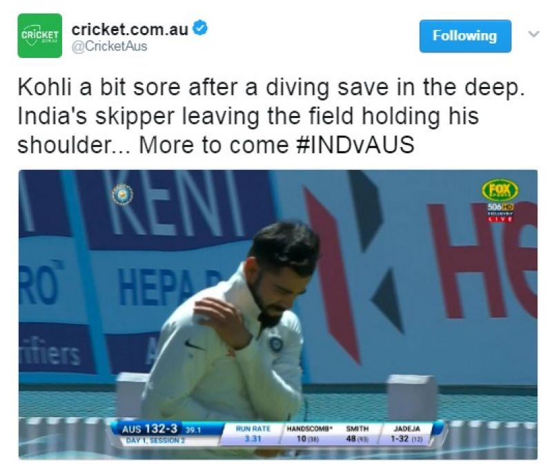 (Photo: cricket.com.au Twitter)