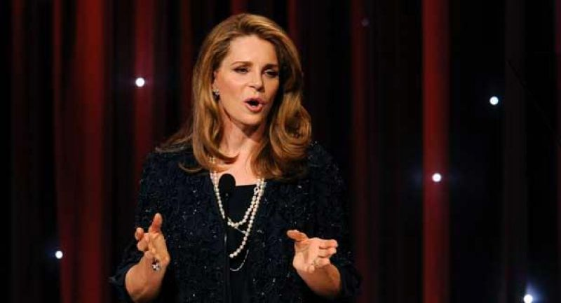 Queen Noor. (Photo: AP)