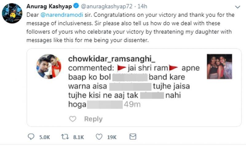 Anurag Kashyap's tweet.