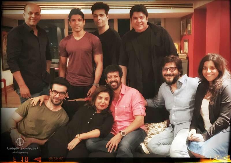 9 directors in one frame: Farah hosts house party for Karan, Farhan and others