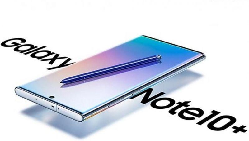 Samsung Galaxy Note 10 promo image
