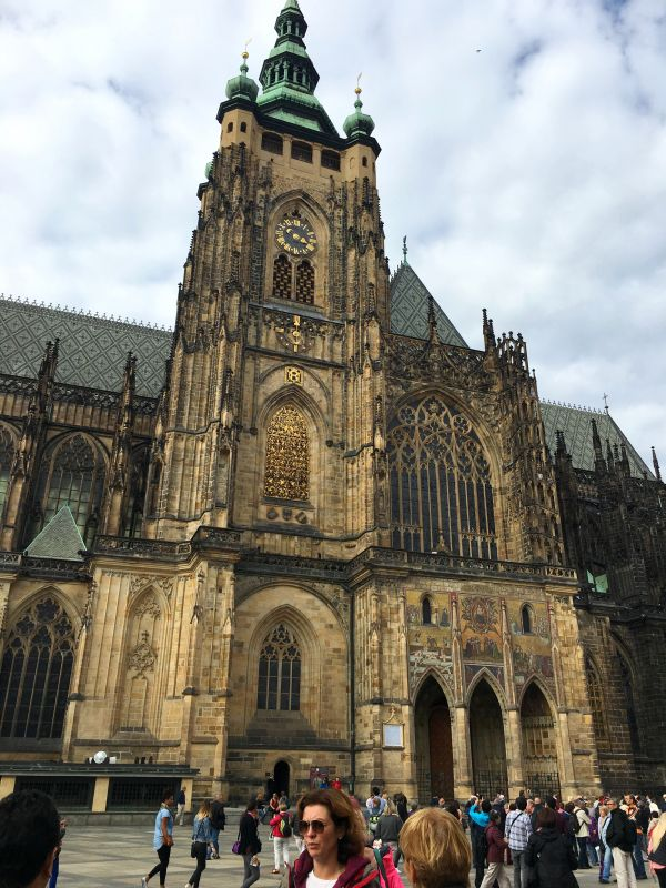 The Gothic masterpiece, St Vitus Cathedral, also the most popular structure in Prague. (Photo: Rajan Goregaoker)