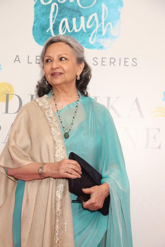 Sharmila Tagore at the event.
