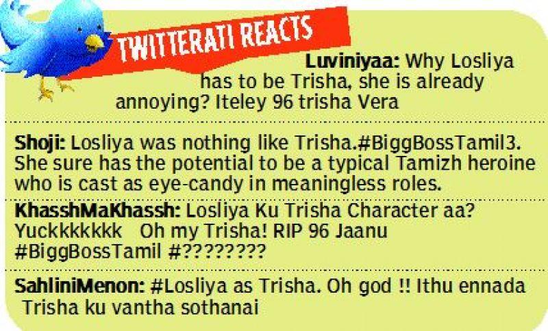 Twitterati reacts