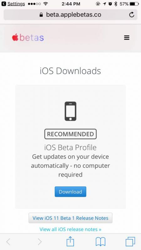 How to get iOS 11 beta on your iPhone/iPad without $99 developer account