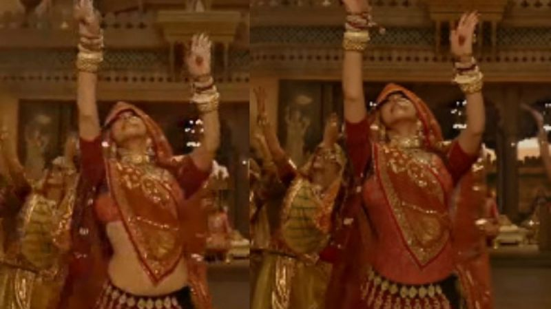 Watch: Deepika's midriff no longer visible in Padmaavat's Ghoomar song, here's how