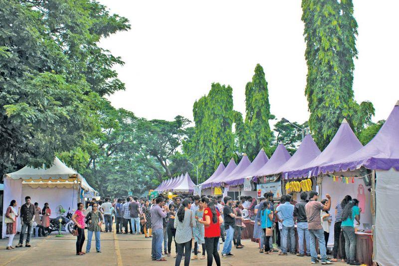 Bazaar area